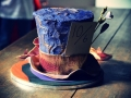 mad-hatter-themed-chocolate-cake-with-multicolored-layers